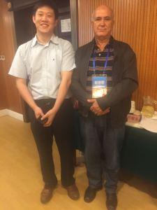 Avec un prof de l'université de Pekin