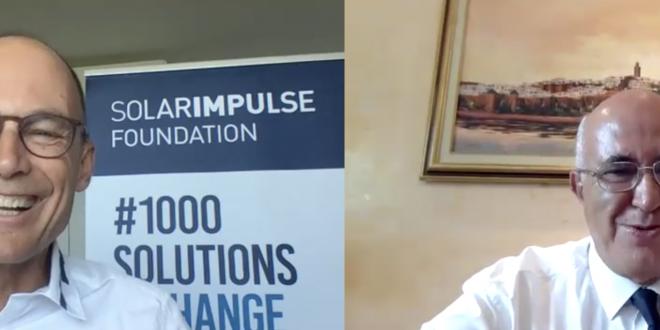 Entretien avec M. Bertrand Piccard qui a effectué le tour du monde avec un avion solaire