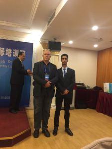 Avec bassam étudiant de Yémen à Pékin